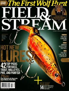 Field & Stream (F&S for short) is a magazine featuring hunting, fishing, and other outdoor activities in the United States. Together with Sports Afield and Outdoor Life, it is considered one of the Big Three of American outdoor publishing.