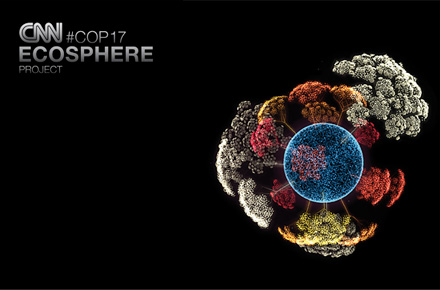 Title: The CNN Ecosphere; Client: Turner Broadcasting System Deutschland (CNN); Agency: HEIMAT, Berlin; Country: Germany