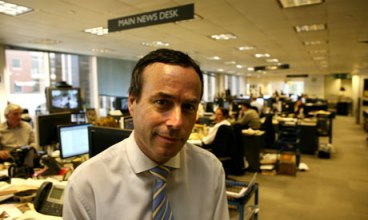 Lionel Barber, editor of the Financial Times. Photograph: Graham Turner for the Guardian. Guardian Photo