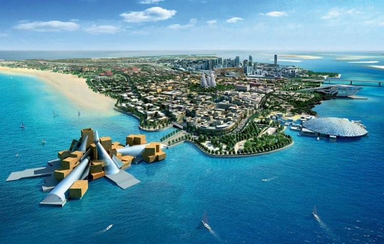 mm - Guggenheim Abu Dhabi design by Frank Gehry 02