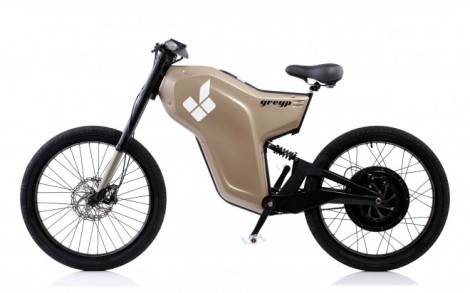 Fingerprint-Activated Electric Bike Goes 40 MPH, 90 Miles on a Charge