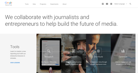 With 'News Labs' Google just entered the race to build the future ofmedia