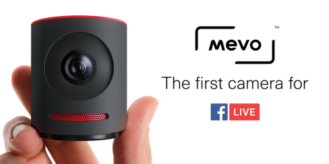 Mevo is Out:  The First Camera That Works With Facebook Live
